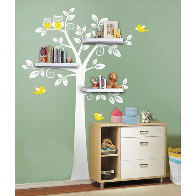 Neue Wandregal Baum Nursery Wandtattoos Dekorativen Wandregale