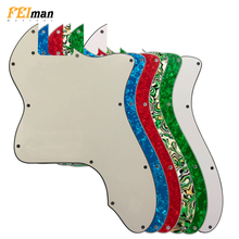 Pleroo Guitar Parts blank pickguard For Fender Classic 72' thinline Telecaster tele Guitar Pickguard Scratch Plate for DIY цена