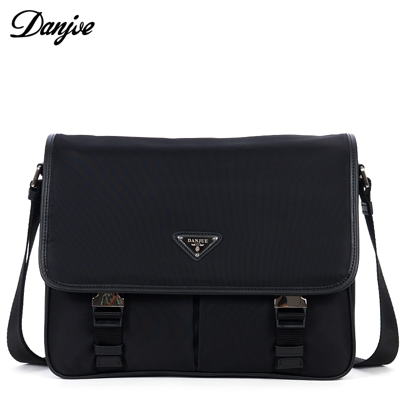 DANJUE High Quality Men Messenger Bag Cover Oxford Brand Crossbody Bag Leisure Daily Male Business Shoulder Bag