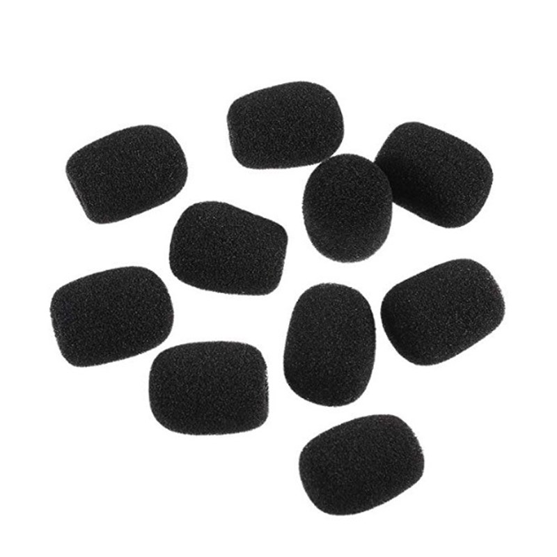 Image 3 - Microphone Replacement Foam Microphone Pads Cover Telephone 