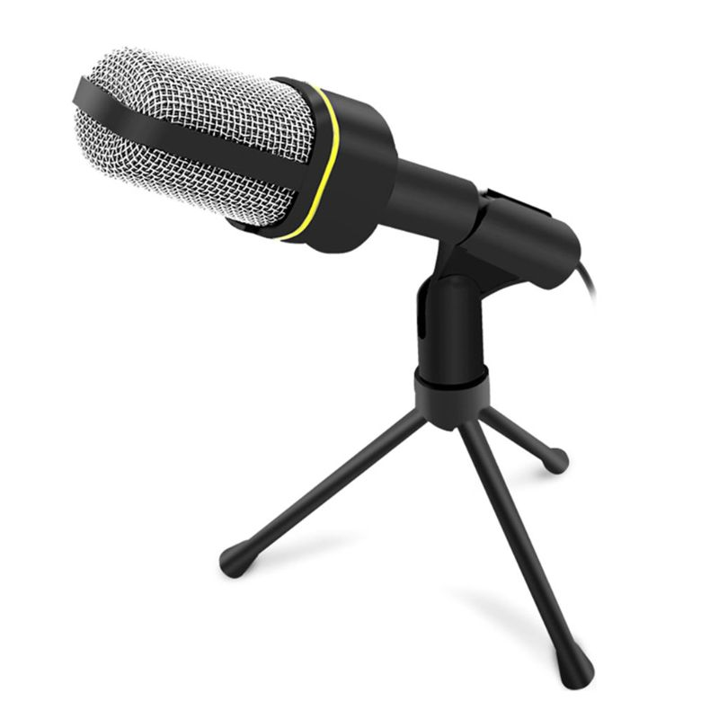Professional 3.5mm Wired Capacitive Studio Plug And Play Microphone SF-920 For Computer PC Desktop Wholesale