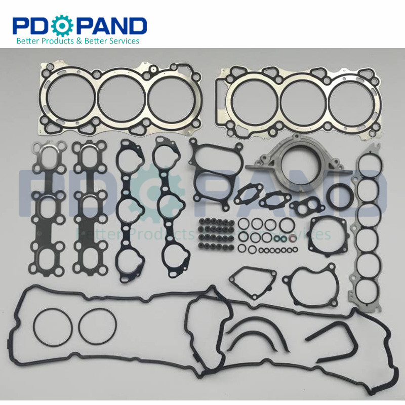 VQ35 VQ35DE Full Engine Gasket Set A0101 CA025 for Nissan 350Z For Infiniti G35 FX35 3