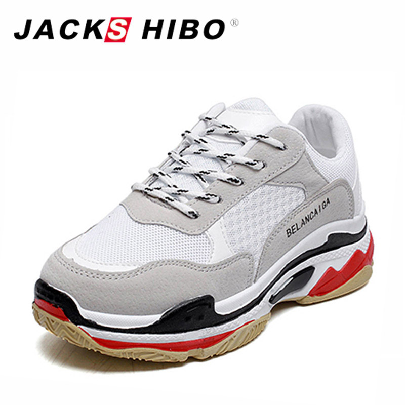 JACKSHIBO Soft Bottom Woman Shoes Red La