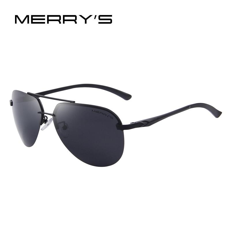 MERRYS Märke Män 100% Polariserad Aluminium Alloy Frame - Kläder tillbehör - Foto 3