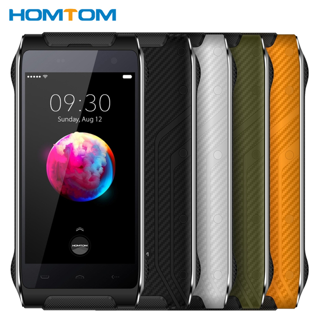 Original HOMTOM HT20 Pro IP68 Waterproof Cell Phone RAM 3GB ROM 32GB MTK6753 Octa Core 4.7 inch 13.0MP Camera 3500mAh Smartphone