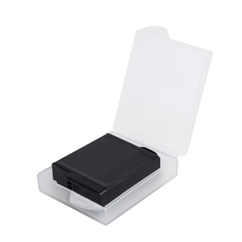 Plastic ABS Camera Battery Case Storage Box Cover For GoPro Hero 5 4 Xiaomi Yi SJ4000 Sj5000 GP422 Battery Moisture Proof Box new gopro accessories shockproof waterproof collection double box hard bag tools storage hero 4 3 3 2 1 sj4000 sj5000 sj6000