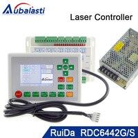Co2 лазерной резки контроллер RDC6442G 1 комплекты + источника питания 24V3A 1 шт.