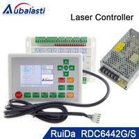 Co2 лазерной резки контроллер RDC6442G 1 компл. + питание 24V3A шт.