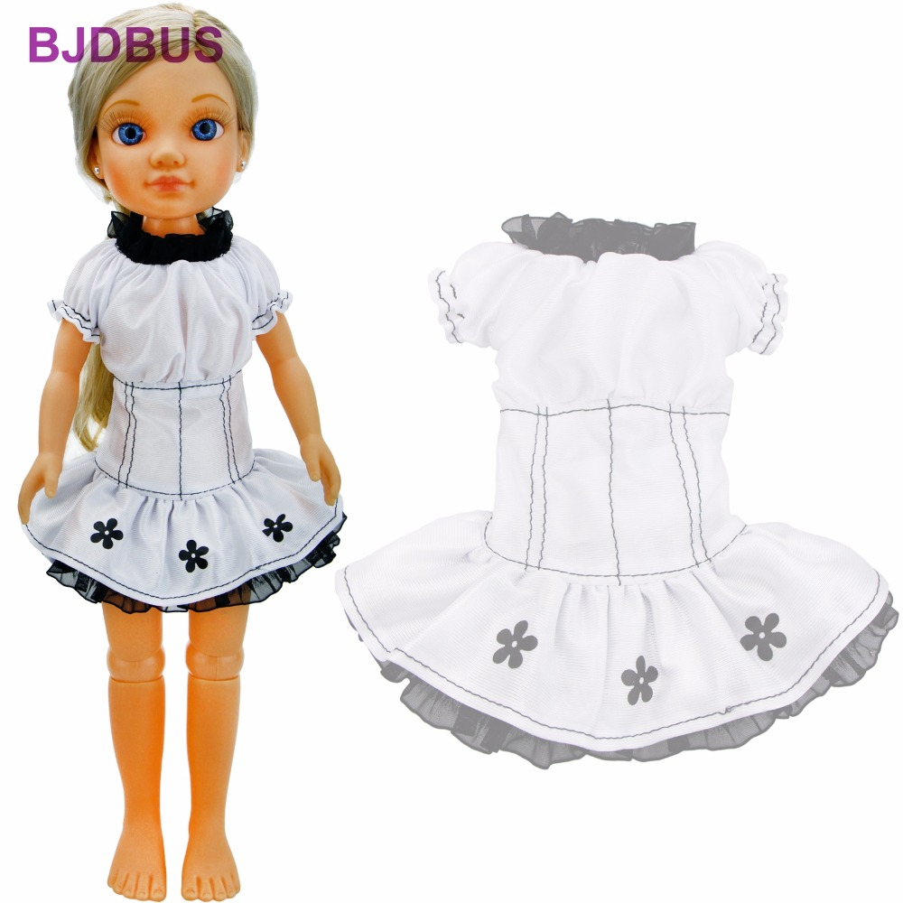 Fashion Short Dress Sexy Laces Flower Pattern Cute Mini Skirt Wedding Party Wear Clothes For Nancy Doll 16'' Accessories Toy sexy vintage mini short jeans booty shorts cute bikini denim short hot pants vestidos sexy club party erotic clothings bottom
