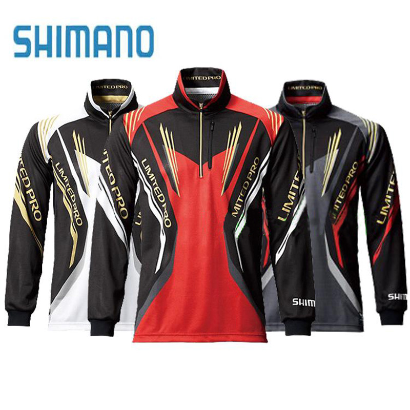 2017 shimano men fishing shirt quick dry ice cool zipper for Fishing stores nj