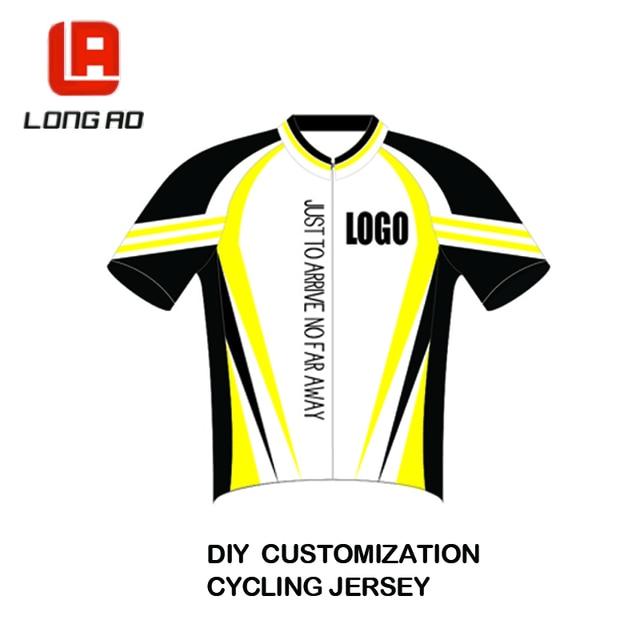 ef543d0c8 DIY Any Design Colour Custom Cycling T Shirts Running T Shirts ...