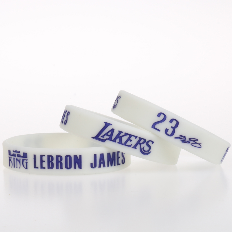 1PC LA Lebron James Angeles Lakers basketball players women and men s  silicone bracelets Kids Adult Size Siliocne Wristband  79d28af8ac