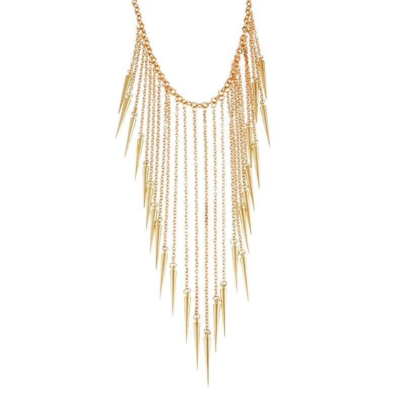 MJARTORIA Maxi Necklace Women Boho Collier 2017 Fashion Jewelry Choker Collares Statement Necklace Tassel Necklaces Pendants