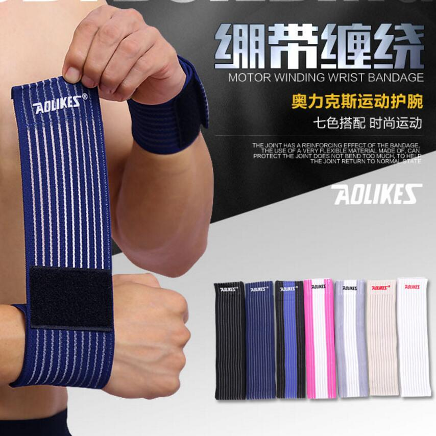 2pcs size 40*7.5cm bandage Wrist Support, Mini Portable Wrap Strap Wrist Brace Support medical support