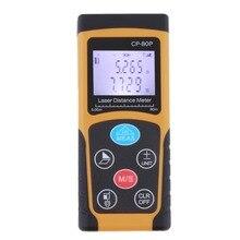 Big sale High Quality 80 m High-precision Handheld Digital IR Laser Distance Meter Range Finder Free Shipping