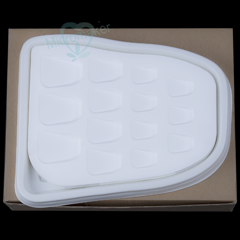 1PC Dental Lab Tooth Shape 14 Slot Microporous Porcelain Plate Watering Plate Stain Powder Mixing Tool