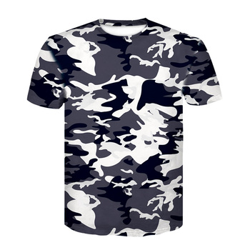 Layer Camouflage T Shirts