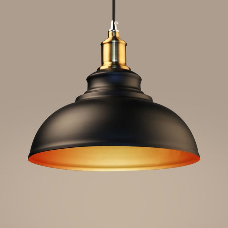 Iron Reminisced Pendant Lamp Retro Iron Pendant Lights Industrial Light Pendientes Lamparas Edison Pendant Lights