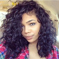 8A Brazilian Virgin Hair Lace Front Wig With Baby Hair Glueless Wet and Wavy Full Lace Wigs For Black Women Wavy Human Hair Wigs