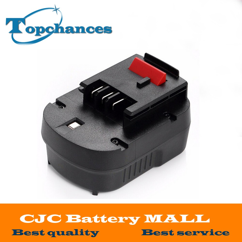 High quality 12V 3000mAh NI-MH Replacement Power Tool Battery For Black&Decker A12, A12-XJ, A12EX, FS120B, FSB12, HPB12