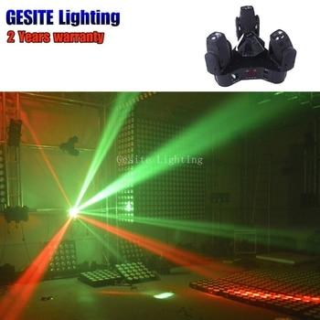 Lumière principale mobile de Led 3 têtes 3X12 W Mini partie de lumières d'étape de faisceau de tache de lavage