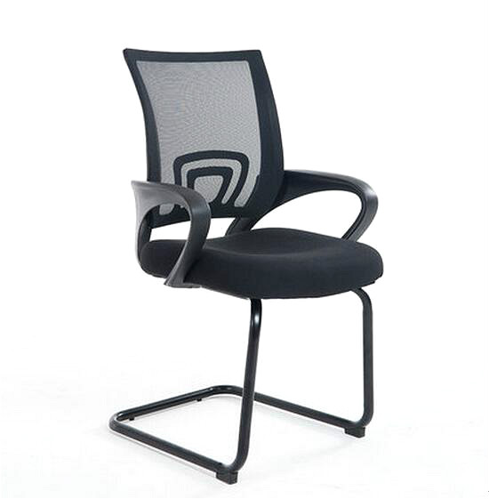 Mesh Cloth Breathable Office Chair Home Ergonomic Computer Chair Conference Z-shaped Simple Design bureaustoel ergonomisch simple design ergonomic office chair foldable conference training staff chair with writing board mesh backrest cushion cadeira