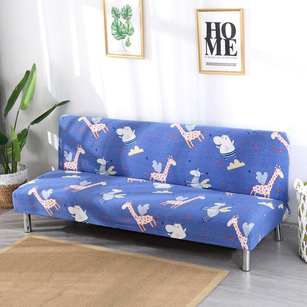 Fodera Moderna stretch Copertura Della sedia Pieghevole Divano senza braccia divano letto covers Per Soggiorno Spandex Elastico Caso per la copertura di sede