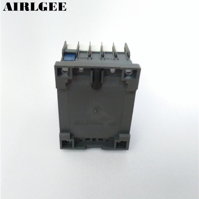 CJX2-K0910 380 Volts Coil 35mm DIN Rail 9A Three Pole 3P 1NO AC Contactor