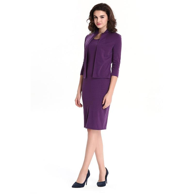 US $25.36 5% OFF|Autumn 2018 S 3XL Solid Ladies Jacket Dress Suits Plus  Size OL Dress Elegant Sheath Bodycon Dress Sets Women Two Pieces Sets-in  Dress ...