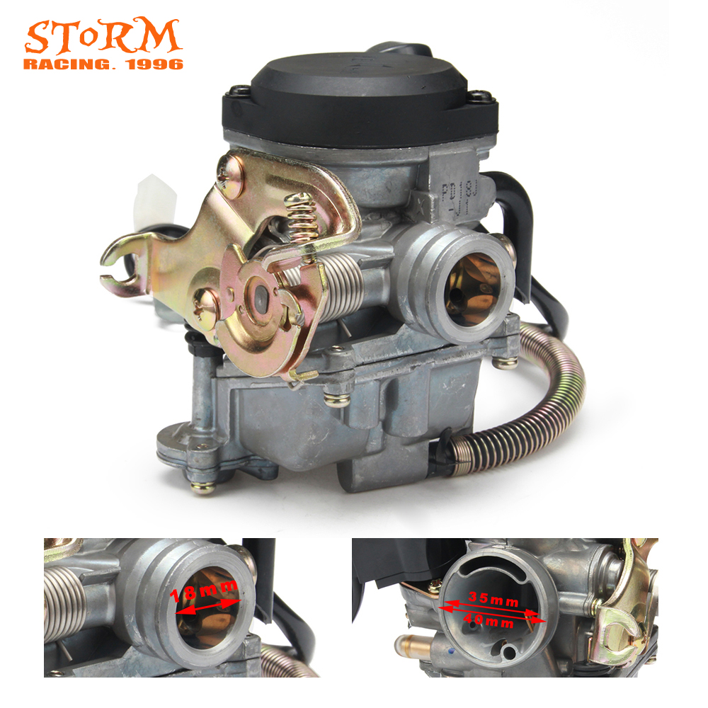 Motorcycle Parts PD18J 18mm Carburetor Carb For GY6 50cc 80cc Scooter Moped 4 Stroke PD18 Engine 139QMB 139QMA ABM IRBIS BAJA