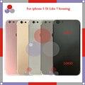 Высочайшее качество Для iphone 5 и iphone 5S, как iphone 7 Стиль Шасси Ближний Рамка Назад Корпус Крышка Батареи Дверь