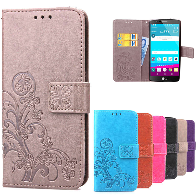 For Coque LG G4 LGG4 Leather Wallet Flip Case Printing Back Cover For LG G4  H815 d052c2f74f34