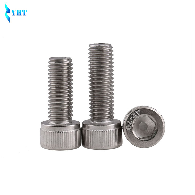 10*M6*40 mm tornillos hexagonales DIN 912 de acero galvanizado