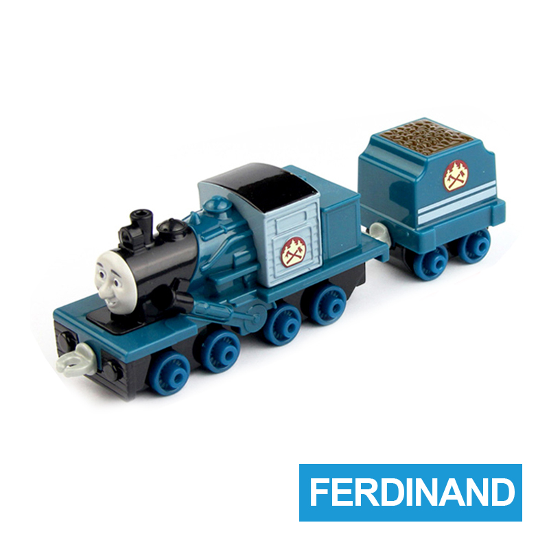 x8 Gift 1: 64 Vehicles Diecasts Thomas with hook Ferdinand Thomas And Friends Magnetic Thomas Truck Engine Train Toys For Boys