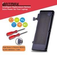 63.5Wh 10.95V A1322 A1278 Battery for Apple A1322 Apple MacBook Pro 13 2009 2010 2011 MB991LL/A MB990LL/A MB990J/A MC700 MC724