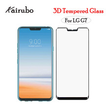 Factory wholesale 10PCS Tempered Glass For LG G7 Screen Protector Toughened Protective Film Guard 3D