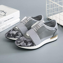 2019 The new retro trend canvas Mesh womens shoes hot models spring autumn breathable Sell well casual singles