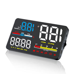 Image 5 - D5000 HUD Auto Head Up Display OBD2 Diagnose Werkzeug Hud Display Digital Security Alarm Tacho Windschutzscheibe Bildschirm Projektor