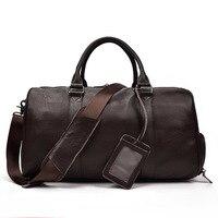 Новый Для женщин Для мужчин из натуральной кожи спортивная сумка мешки Duffle Водонепроницаемый Сумочка Открытый Фитнес сумки на плечо sac de Сп