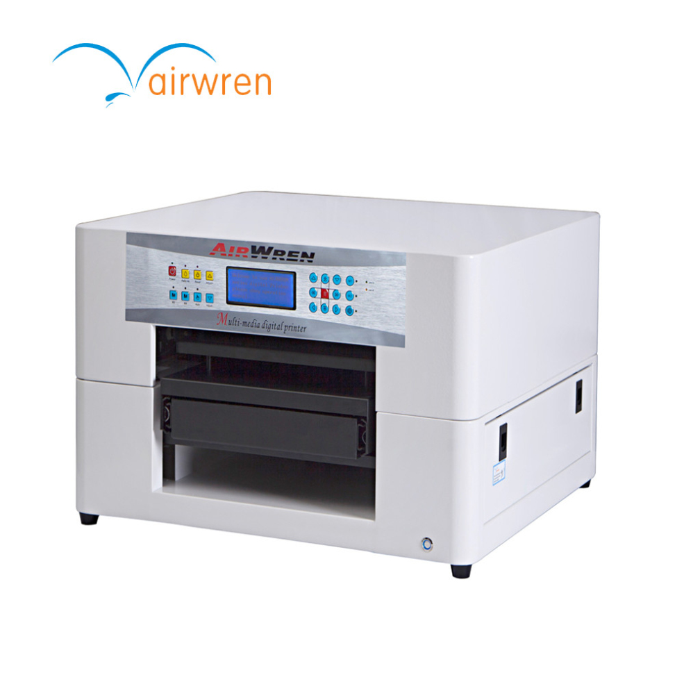A3 Desktop Garment Flatbed Dtg Printer For Price With Rip Software T Shirt Printing Machine