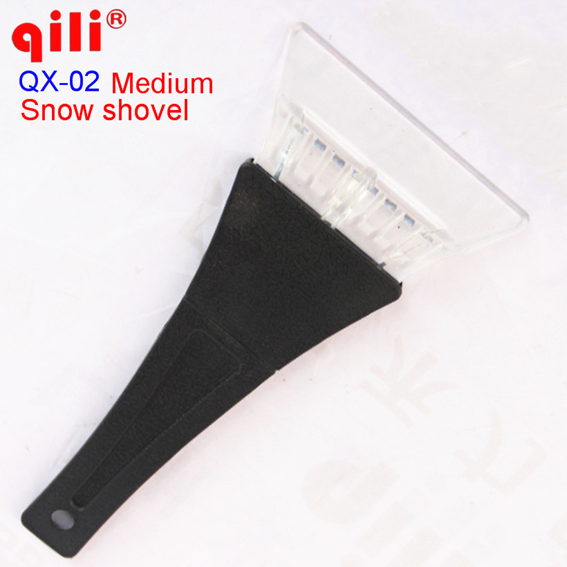 QILI QX-02  Snow Shovel Scraper Removal Clean Tool Auto Car Vehicle Fashion And Useful Ice Remove Tool 50pcs/DHL water resistant car vehicle snow scraper with keep warm sleeve blue