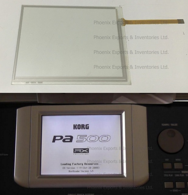 KorgタッチスクリーンパッケージPA600x6 PA800x4 PA500x4 T3 LCDX2