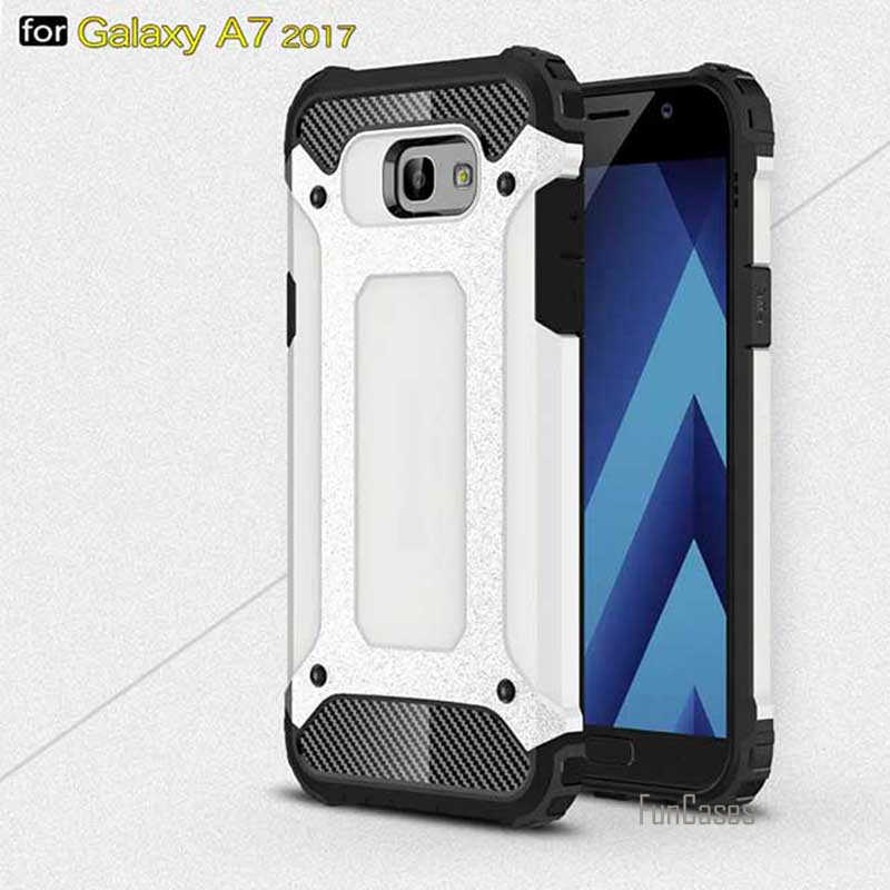 New for Samsung Galaxy A7 2017 Case Back Cover High Quality Dirt-resistant Phone Cases for Samsung Galaxy A720 A720f SM-A720 bag