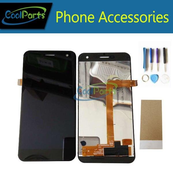 1 Pz/lotto Per Wileyfox Spark Display LCD E Touch Screen Digitizer Assembly Parte di Ricambio Con Strumenti e Nastro Nero Bianco colore