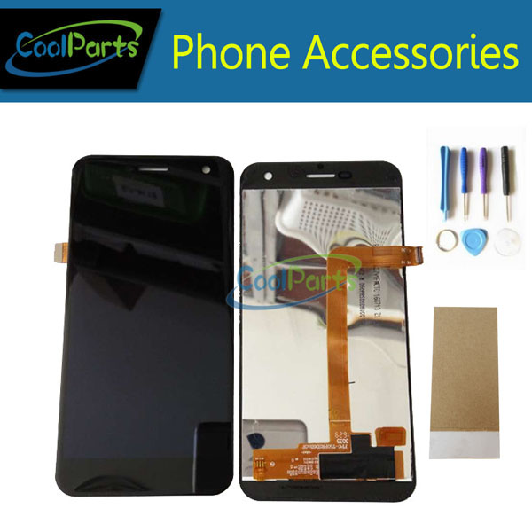 1PC/Lot For Wileyfox Spark LCD Display And Touch Screen Digitizer Assembly Replacement Part Black White Color With Tools&Tape
