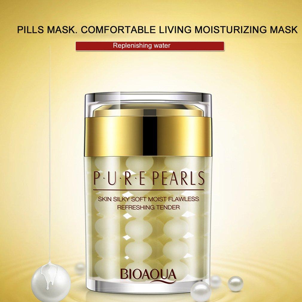 60G Women Facial Skin Care Hyaluronic Acid Cream Face Whitening Moisturizing Brighten Anti Wrinkle Fading Spots Cream