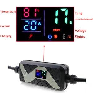 Image 3 - Elektrikli araç EVSE araba şarjı Nissan Leaf için Ford için tip 2 elektrikli araç şarjı Schuko fiş chademo 20A IEC 62196 2