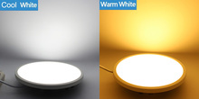 NEW Flat LED Panel light Super thin recessed Downlight Square Round for home Kitchen 30W 22W 16W 8W integrated driver Free Ship