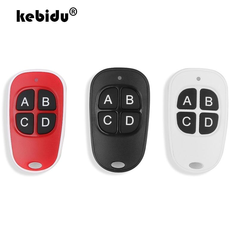 Remote Control Duplicator Wireless Key Fob For Garage Door Cloning Gate 433MHZ