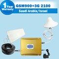 Arabia Saudita Israel GSM 900 3G WCDMA 2100 Señal Celular repetidor GSM 3G UMTS 2100 de Doble Banda Celular Amplificador Móvil Booster